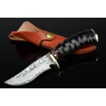 2891 damascus steel hunting knife