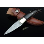 2974 damascus steel hunting knife