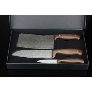 2023 Imitation damascus steel kitchen knives set