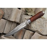 3265 damascus steel hunting knife