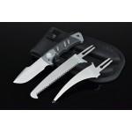 3362 interchangeable knives survival kit set