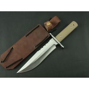 Rattlesnake 7Cr17Mov Blade G10 Handle Survival Knife Military Knife 3366
