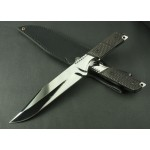 3368 A3 mirror finish blade military knife