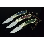 3381 damascus steel pocket knife-ZH160