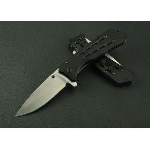 Rombo 3Cr13Mov Steel Blade Aluminum Handle Liner Lock Quick-opening Pocket Knife3384