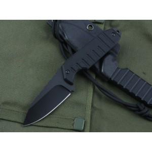 SCHRADE 5cr13Mov Steel Blade G10 Handle Black Finish Tactics Knife3517