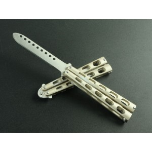 Benchmade 5CR13Mov Stainless Steel Latch Balisong Knife3518