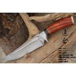 3522 damascus collectible knife