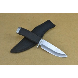 Buck.440 Stainless Steel Blade Plastic Handle Fixed Blade Knife with Nylon Sheath4531