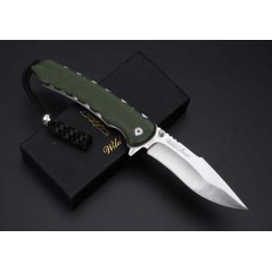 D2 Steel Blade G10 Handle CNC Tatical Folding Blade Knife5192