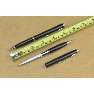 Black Ballpoint Pen Knife4582