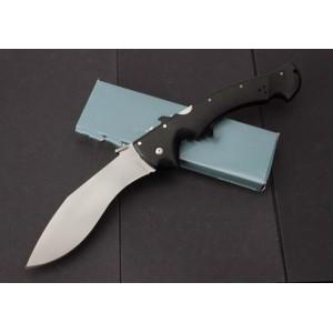 Cold Steel.D2 Steel Blade Kraton Handle Satin Finsh Kukri Folding Blade Knife4681
