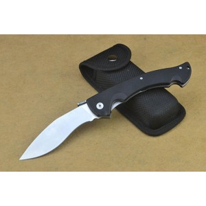 Cold Steel.5Cr15MoV Steel Blade G10 Handle Satin Finish Liner Lock Kukri Folding Blade Knife4750