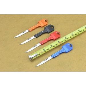 KEY.420 Stainless Steel Blade Metal Handle Mirror Finish Folding Blade Knife4706