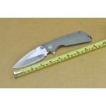 MTech.D2 Steel Blade TC4 Handle Satin Finish Liner Lock Pocket Knife4549