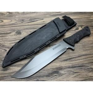 black titanium and rubber machetes5740