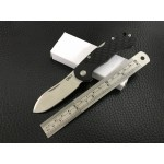 CRKT.9Cr13MoV Steel Blade High Quantity Plastic Handle Satin Finish Pocket Knife5898