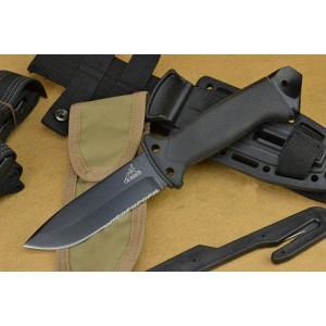 Gerber.12Cr27MoV Steel Blade Fiberglass Nylon Handle Coated Finish Fixed Blade Knife Survival Knife 4122