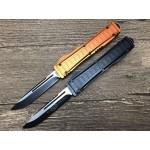 MTech.440C Steel Blade Aluminum Handle Push-botton Automatic-opening Knife5674