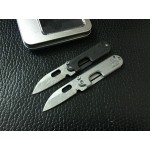 5Cr13MoV Steel Blade Metal Handle Small Folding Blade Knife Pocket Knife5724