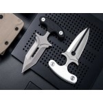 D2 Steel Blade G10 Handle Fixed Blade Knife Small Knife Stab Defensive Knife6002