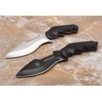 5Cr13MoV Steel Blade Wood Handle Satin Finish Fixed Blade Knife Tatical Knife
